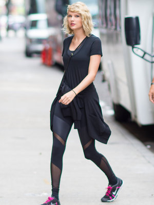 Taylor Swift Is All Smiles at Gym After Hiddleston Split