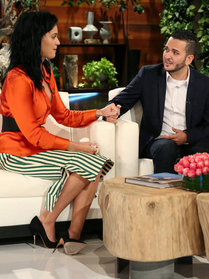 See Katy's Emotional Surprise for Orlando Shooting Survivor