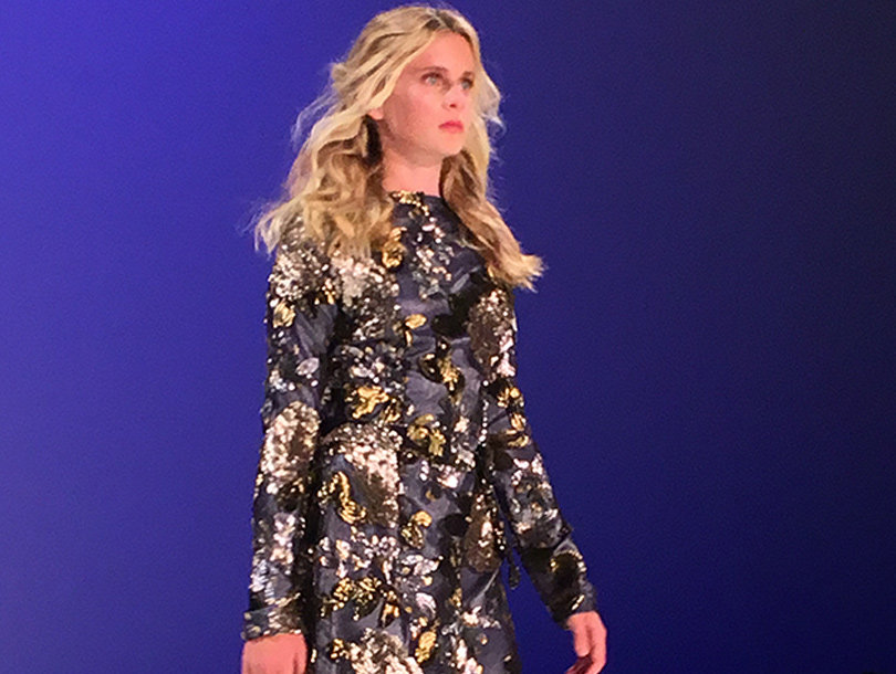 Camille & Kelsey Grammer's Daughter Hits the Runway at NYFW