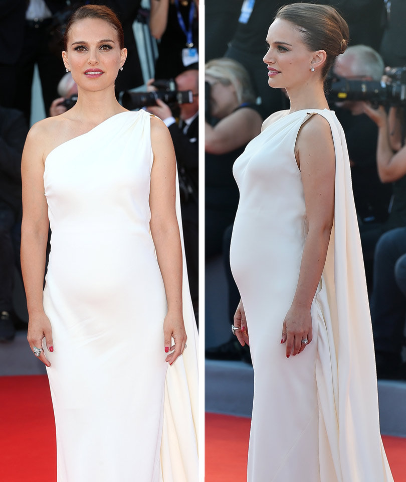 Natalie Portman Pregnant with Baby #2 -- See Her Bump!