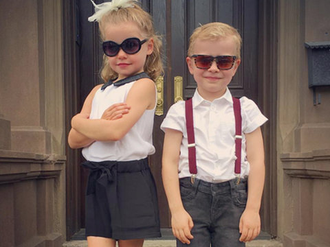 Neil Patrick Harris' Twins Head to First Day of Kindergarten
