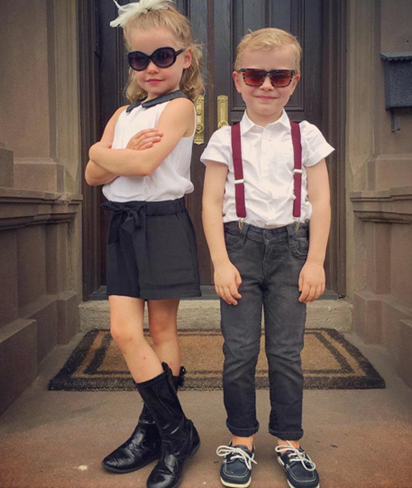 Neil Patrick Harris' Twins Head to First Day of Kindergarten