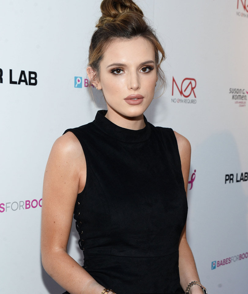 "Bella Thorne Gets Inked Where?! See Her New ""Kitty"" Tattoo!"