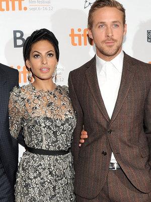 "Gosling Says Eva Mendes & Daughters Make Him ""Better"""
