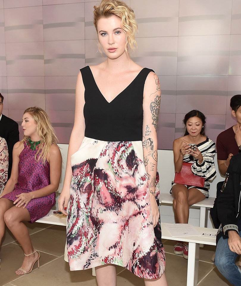 Ireland Baldwin Is Tattooed and Beautiful at NYFW