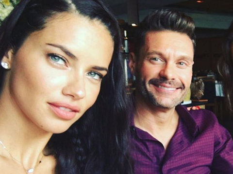 Wait ... Is Adriana Lima Really Dating Ryan Seacrest?