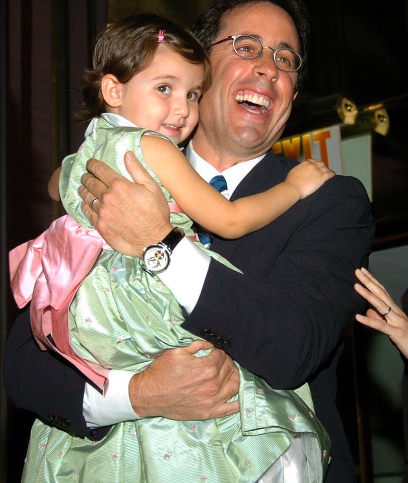 Jerry Seinfeld's 15-Year-Old Daughter Attends NYFW -- See Her Now!