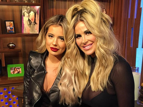 "Kim Z Approves of Daughter's Lip Injections: ""Shoot 'Em Up!"""