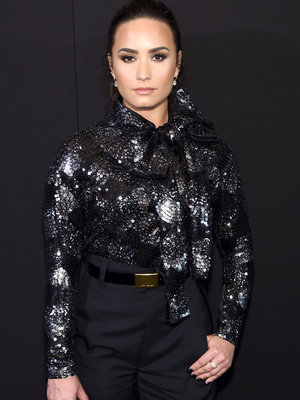 Simply Stunning! Demi Lovato Keeps It Classy at NYFW