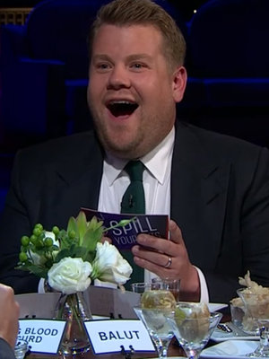 James Corden Turns Red, Literally Starts Sweating When Asked About Carpool Karaoke with Britney Spears