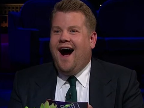 James Corden Turns Red, Literally Starts Sweating When Asked About Carpool Karaoke with…