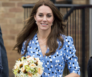Kate Middleton Is Pretty In Polka Dots In the UK