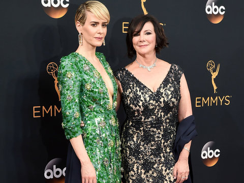Sarah Paulson Brings Marcia Clark As Her Date to the Emmys