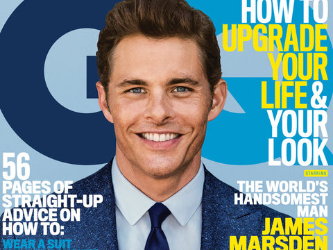 "James Marsden Reveals He Turned Down a Part In ""Magic Mike"""