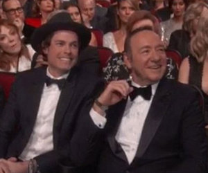 Kevin Spacey's Hot Emmys Date Is a Former Pop Singer -- Who Is He?