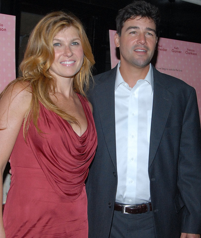 "Connie Britton & Kyle Chandler Have ""Friday Night Lights"" Reunion at Emmys"