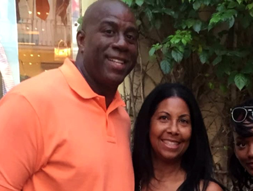 Magic Johnson Won't Let Athletes Date His Daughter Elisa, Opens Up About Son EJ…