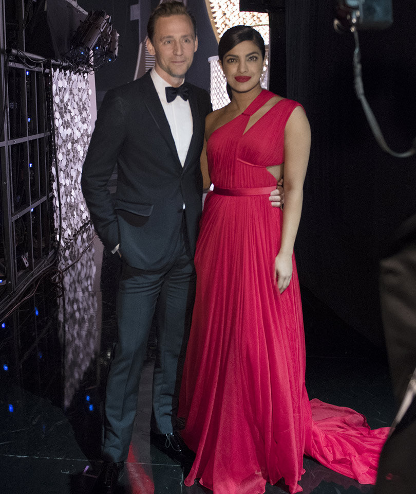 Tom Hiddleston & Priyanka Chopra Spark Romance Rumors at Emmy After-Party