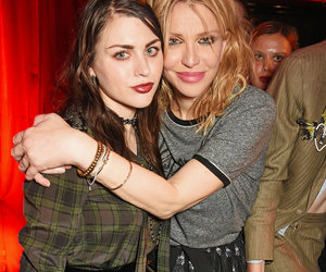Courtney & Frances Bean Reunite at London Fashion Week Bash