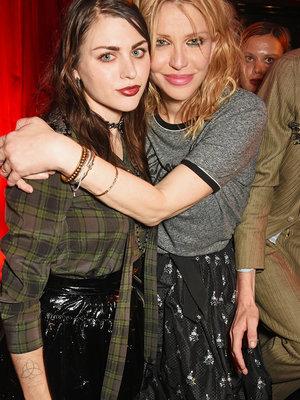 Courtney & Frances Bean Reunite at London Fashion Week Bash