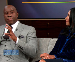 Magic Johnson Talks Athletes Dating Elisa