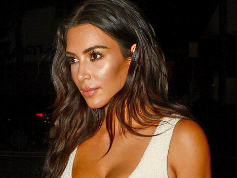 Finally! Kim Kardashian Steps Out In Miami In Something That's NOT Sheer