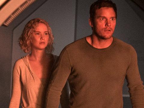 "J-Law & Pratt Are Lost In Space In ""Passengers"" Trailer"