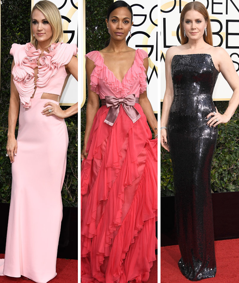 The Best And Worst Golden Globes Fashion Toofab S Top 10 Low 5 Photos