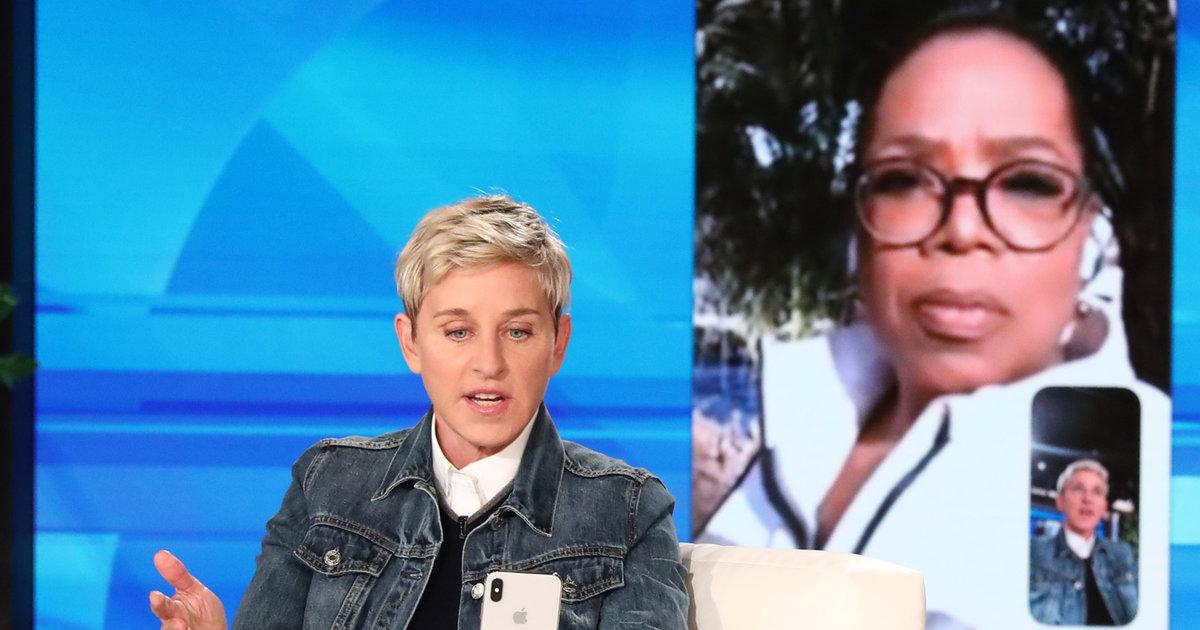 Ellen Gets Emotional Over Mudslide Devastation Near Montecito Home -- And Oprah Reports Live From the Scene