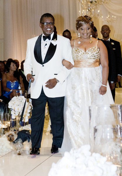 Pictures of nene leakes wedding dress