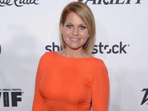"""Why Candace Cameron Cried After Watching NKOTB """"Fuller House"""" Episode"""