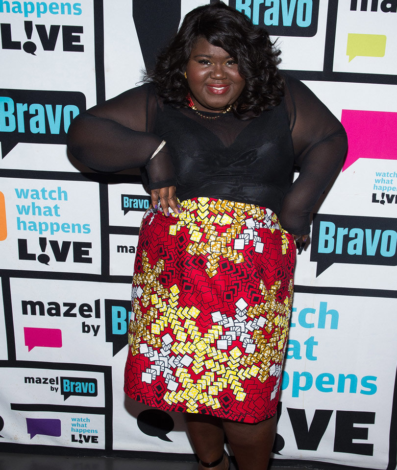 Gabourey Sidibe Just Gave the Best Advice to Young People Struggling with Their Weight