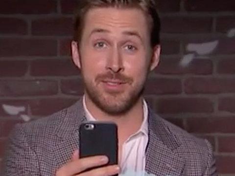 "Gosling, Melissa McCarthy & More Take on ""Mean Tweets"""