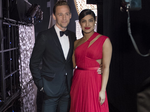 Priyanka Chopra Gushes About Twirling With Tom Hiddleston, Hilariously Bobs For Apples…