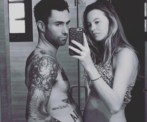 Aww! Adam Levine Shares First Pic of Newborn Daughter
