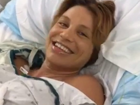 """""""America's Next Top Model"""" Star Lisa D'Amato Gives Birth, Livestreams the Whole Thing!"""
