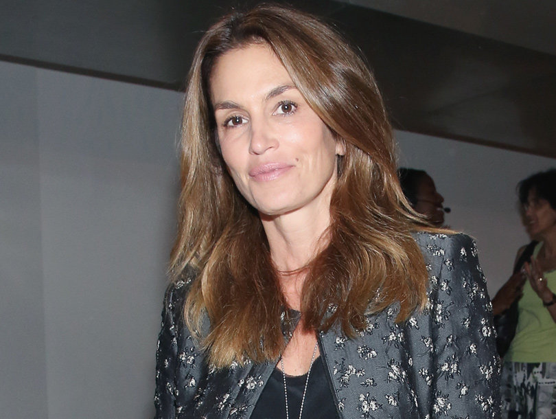 Cindy Crawford, 50, Shows Off Flawless Bod While Going Topless With Thigh-High…