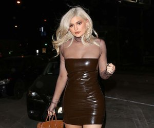 Kylie Jenner's Leather Dress -- Fab or Drab?