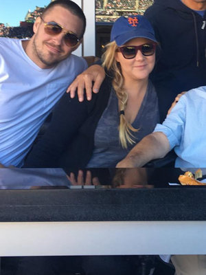 Amy Schumer's Steamy Kiss Cam Moment With BF Will Make You Blush