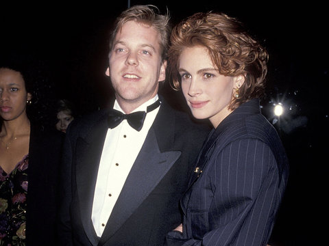 Kiefer Sutherland Praises Julia Roberts for Dumping Him