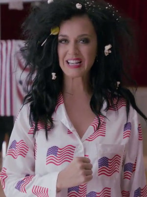 Katy Perry Gets Completely Naked to Convince You to Vote