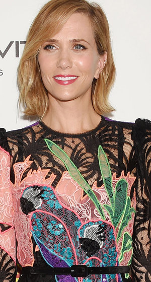 What Exactly Is Going On With Kristen Wiig's Parrot Dress?!