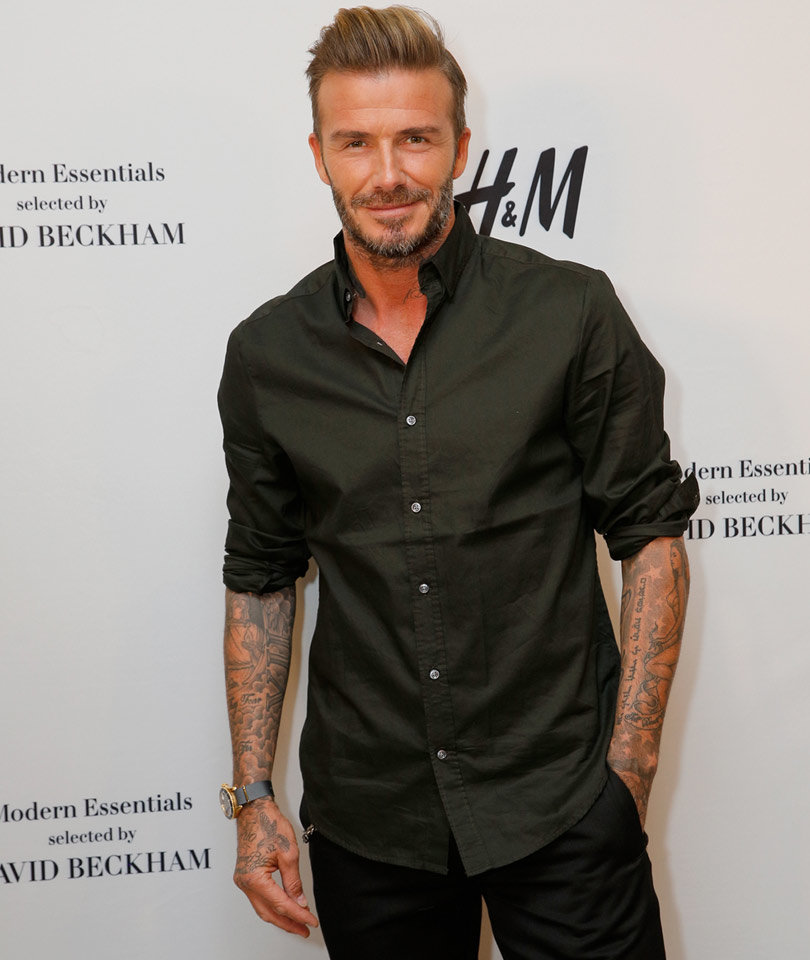 Man Spends $25k to Look Like Beckham ... and Doesn't, At All