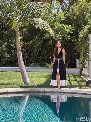 "Lea Michele Throws Open the Doors to Her ""Healing"" Los Angeles Home"