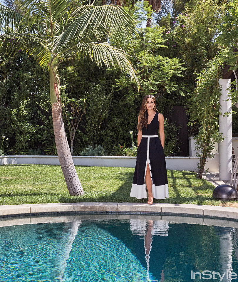 """Lea Michele Throws Open the Doors to Her """"Healing"""" Los Angeles Home"""