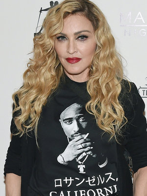 Madonna Goes Topless In Solidarity with Katy Perry