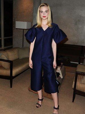 Elle Fanning's Blue Jumpsuit -- Fab or Drab?