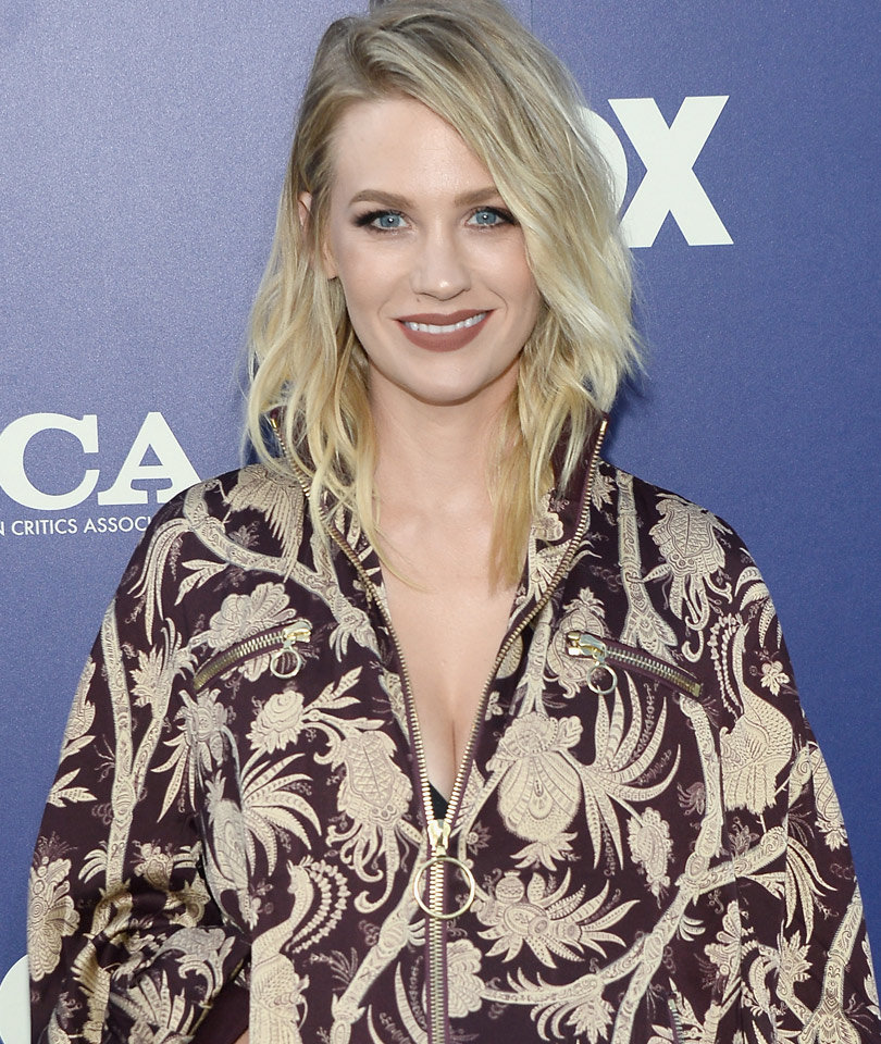 January Jones Gets Beautiful Tattoo In Honor of Her Son