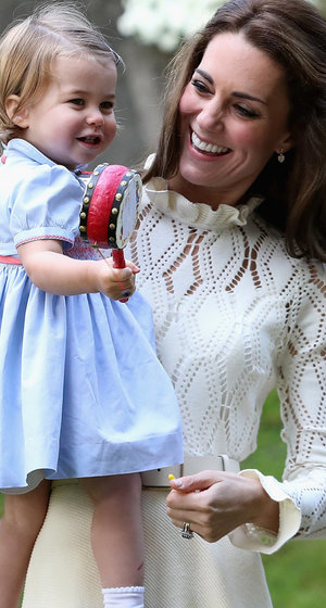Princess Charlotte & Prince George Having a Blast During Canadian Visit