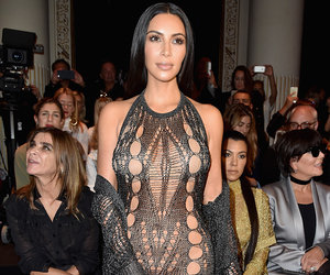 Kim Appears to Attend Paris without Any Underwear Down Below
